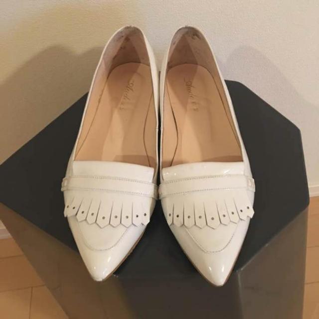 3.1 Phillip Lim(スリーワンフィリップリム)のVIA BUS STOP audoxia 白パンプス レディースの靴/シューズ(ハイヒール/パンプス)の商品写真