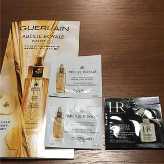 ゲラン(GUERLAIN)の新品 試供品 ゲラン オイル 美容液 ヘレナ ファンデーション 3点セット(美容液)