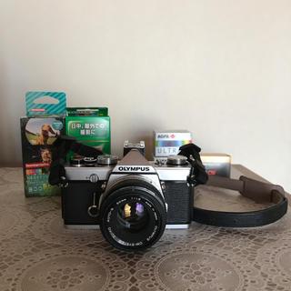 オリンパス(OLYMPUS)のragazzi000様専用 フィルムカメラ OLYMPUS OM-1 フィルム付(フィルムカメラ)