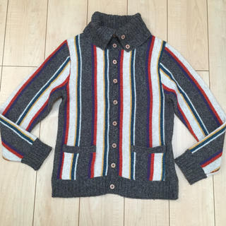 オーセンティックシューアンドコー(AUTHENTIC SHOE&Co.)の古着 オーセンティック メンズ ウール混 長袖カーディガン (カーディガン)