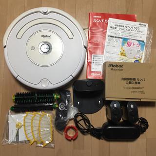 アイロボット(iRobot)の【付属品完備】iRobot Roomba 自動掃除機 ルンバ 537 ホワイト(掃除機)