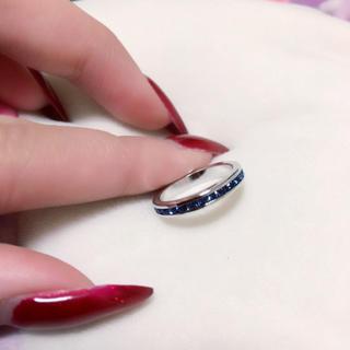 キラキラリング💍💙✨(リング(指輪))