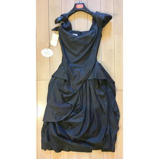 ヴィヴィアンウエストウッド(Vivienne Westwood)のviviennewestwoodヴィヴィアンウエストウッドゴールドレーベルドレス(ミディアムドレス)