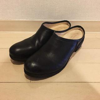 アトリエドゥサボン(l'atelier du savon)のサボ サボサンダル(ローファー/革靴)