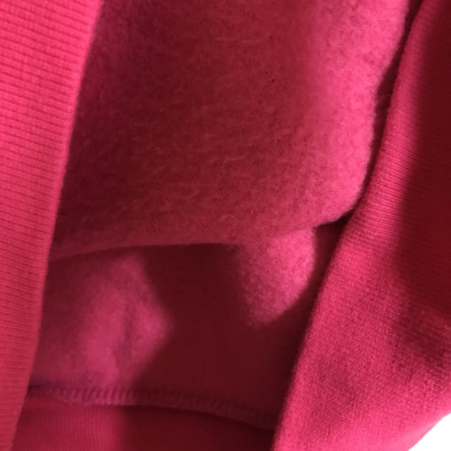 ANAP(アナップ)のピンクスエット ロゴ トレーナー レディースのトップス(トレーナー/スウェット)の商品写真