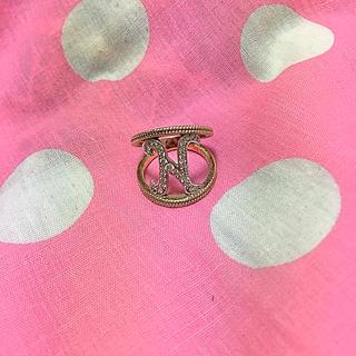 ティンクピンク(tinkpink)のtink pink tink purple グライニシャルリング(リング(指輪))