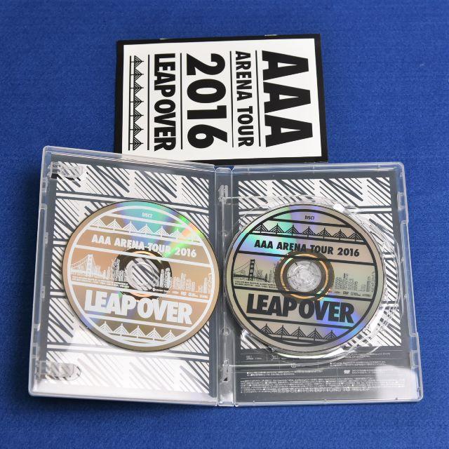 AAA ARENA TOUR 2016 LEAP OVER DVD エンタメ/ホビーのDVD/ブルーレイ(ミュージック)の商品写真