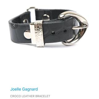 ジョエルガニャール(Joelle Gagnard)のクロコバングル Joelle gagnard(ブレスレット/バングル)