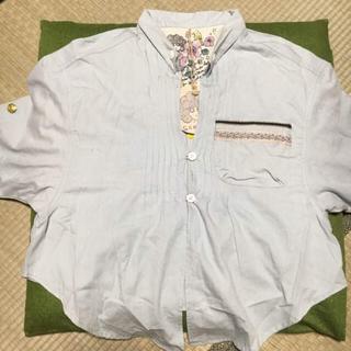 スカラー(ScoLar)の【新品】ScoLar 五分袖シャツ(Tシャツ/カットソー(半袖/袖なし))