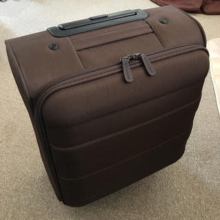 ムジルシリョウヒン(MUJI (無印良品))の無印良品 MUJI ソフトキャリー小(スーツケース/キャリーバッグ)