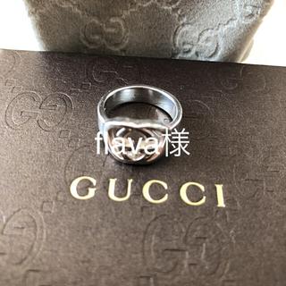 グッチ(Gucci)のGUCCI シルバーリング 8号(リング(指輪))
