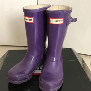 ハンター(HUNTER)のハンターブーツ☆キッズUK11 17cm相当(長靴/レインシューズ)