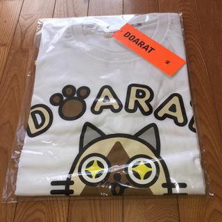 【新品未使用】アイルー×DOARATコラボTシャツ Lサイズ 半袖 カットソー