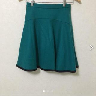 デンドロビウム(DENDROBIUM)のデンドロビウム DENDROBIUM グリーン スカート(ひざ丈スカート)
