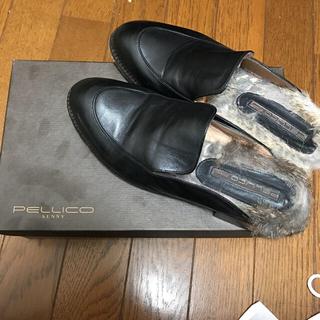 ペリーコ(PELLICO)の(kanna様) PELLICO SUNNY ファースリッパ(ローファー/革靴)