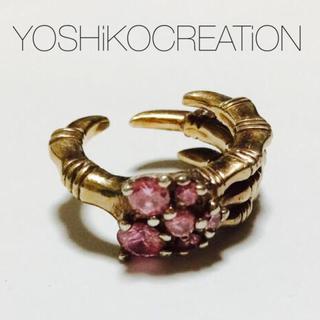 ヨシコクリエーションパリズ(YOSHiKO☆CREATiON PARiS)のゴツめのヨシコクリェーションYOSHiKOCREATiON鷹爪リング(リング(指輪))