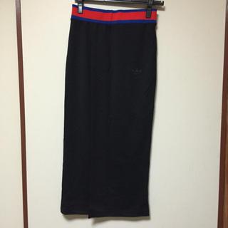 アディダス(adidas)のadidas ラップロングスカート(ロングスカート)
