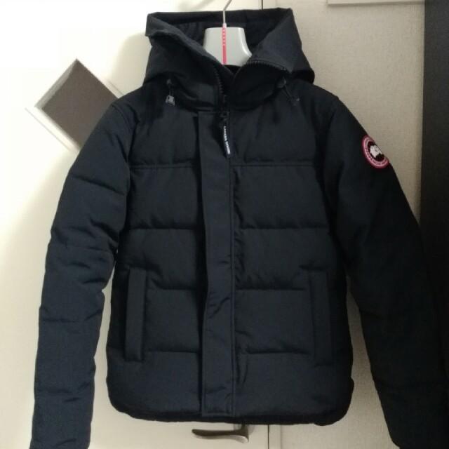 CANADA GOOSE(カナダグース)のカナダグース マクミランパーカー ブラック XS メンズのジャケット