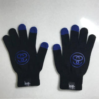 ステューシー(STUSSY)のステューシー(STTUSY) ロゴ入りスマホ対応手袋(手袋)