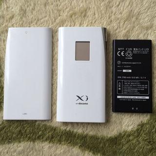 エルジーエレクトロニクス(LG Electronics)のdocomo L-09Cwifi ルータ LTE 対応 傷 スレ有ります。(その他)