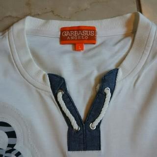 アンジェロガルバス(ANGELO GARBASUS)のANGELOの長袖カットソー。(Tシャツ/カットソー(七分/長袖))