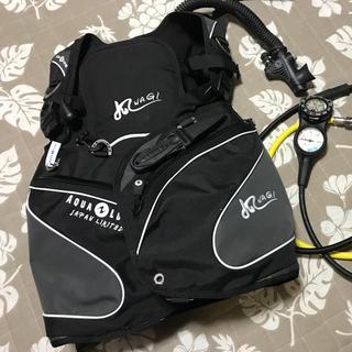 アクアラング(Aqua Lung)のAQUALUNG BCD Nagi 日本限定モデル(マリン/スイミング)