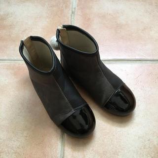 サニーランドスケープ(SunnyLandscape)の専用♡【18.0】デザインショートブーツ(ブーツ)