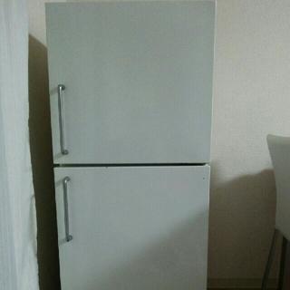 ムジルシリョウヒン(MUJI (無印良品))のいちごぱんつ様専用☆無印良品  2ドア電気冷蔵庫  ・ 137L ☆(冷蔵庫)
