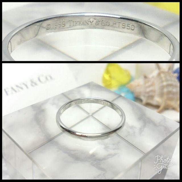 Tiffany & Co.(ティファニー)の■ティファニー プラチナ バンドリング■ メンズのアクセサリー(その他)の商品写真