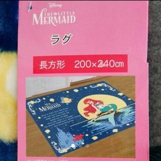 ディズニー(Disney)の新品3畳用♡アリエル♡リビングカーペット♡センターラグ♡ラグマット♡プリンセス♡(カーペット)