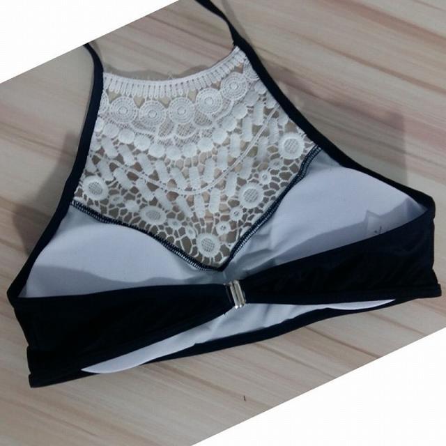 クロシェレース ブラジリアンビキニ(ブラック / S) セクシー 水着 レディースの水着/浴衣(水着)の商品写真