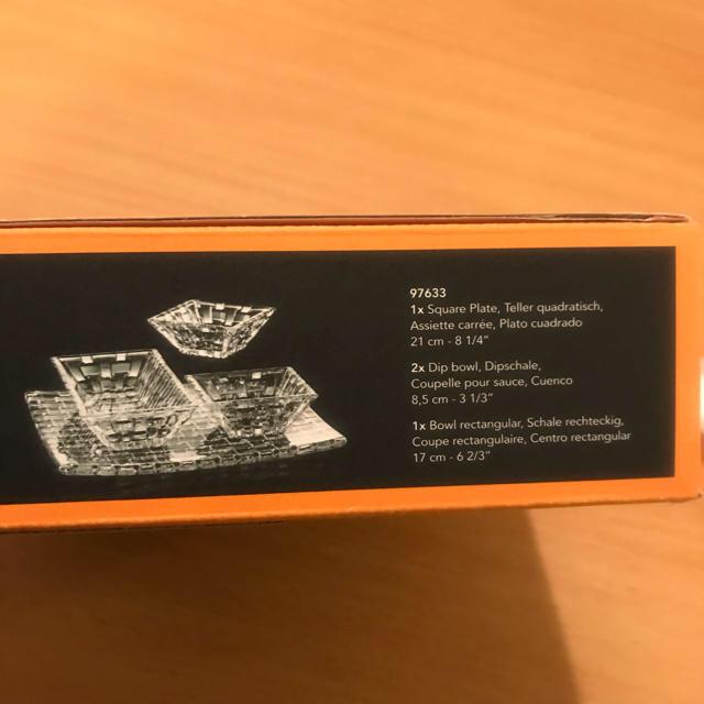 Nachtmann(ナハトマン)の新品未使用★ナハトマンお皿セット インテリア/住まい/日用品のキッチン/食器(食器)の商品写真