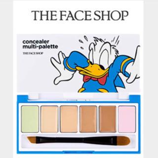 ザフェイスショップ(THE FACE SHOP)のthe face shop ディズニー コラボ ドナルド コンシーラー パレット(コンシーラー)