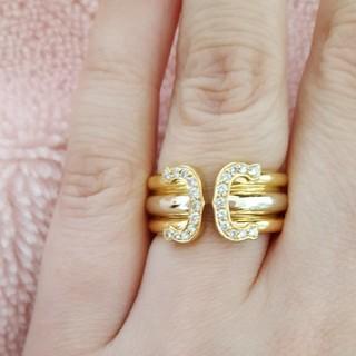 カルティエ(Cartier)の2Cスリーカラーリング(リング(指輪))