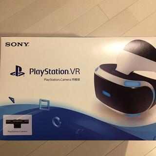 プレイステーションヴィーアール(PlayStation VR)の新品・未使用☆PSVR☆PSカメラ同梱版☆保証有☆PS4☆任天堂Switch(家庭用ゲーム機本体)