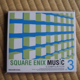 スクウェアエニックス(SQUARE ENIX)のスクウェアエニックス ミュージック コンピレーション3 未開封 非売品(ゲーム音楽)