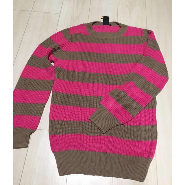 DOUBLE STANDARD CLOTHING(ダブルスタンダードクロージング)のダブスタ セーター ピンク M メンズのトップス(ニット/セーター)の商品写真