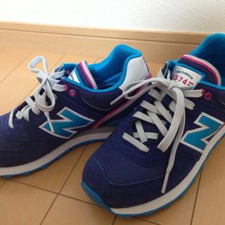 ニューバランス(New Balance)のnewbalance♡ネイビースニーカー(スニーカー)