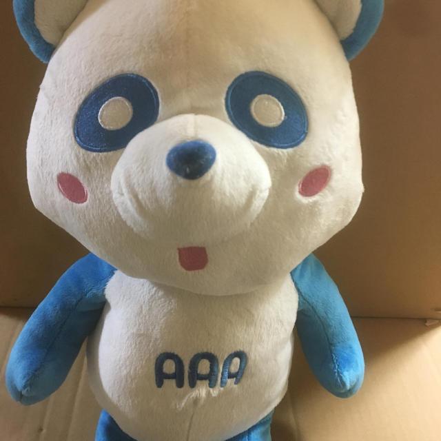 AAA(トリプルエー)の新品☆AAA え〜パンダ スペシャル BIGぬいぐるみ 青色 エンタメ/ホビーのおもちゃ/ぬいぐるみ(ぬいぐるみ)の商品写真
