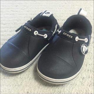 クロックス(crocs)のクロックス 黒 c6(14cm)(スニーカー)