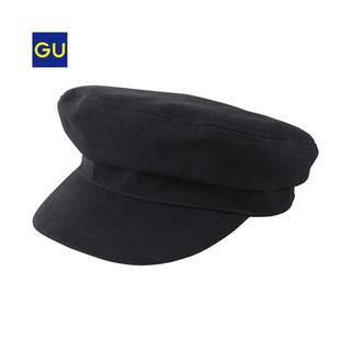 ジーユー(GU)の新品GUマリンキャス ブラック(キャップ)