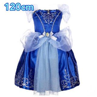 120cm♡シンデレラ♡ブルー♡ドレス♡ワンピース(ワンピース)