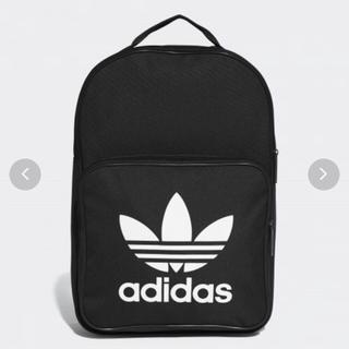 アディダス(adidas)の【新品】ブラック バックパック リュック(リュック/バックパック)