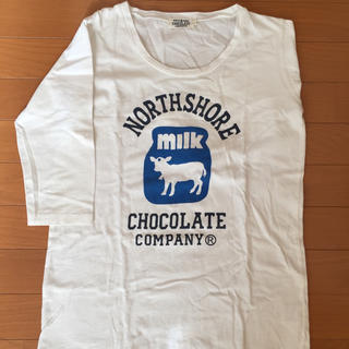 NORTH SHORE CHOCOLATE COMPANY 7分袖 Tシャツ