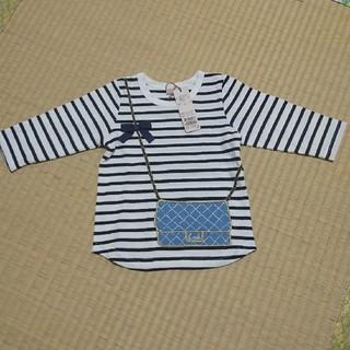 プティマイン(petit main)のプティマイン ボーダー ロンT(Tシャツ/カットソー)