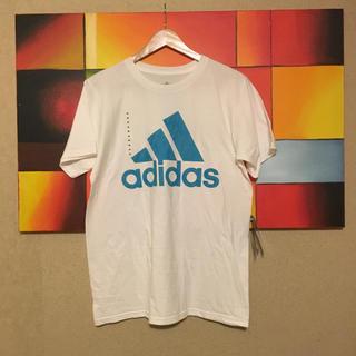 アディダス(adidas)のこや様専用  adidas Tシャツ 水色 白 アディダス(Tシャツ/カットソー(半袖/袖なし))