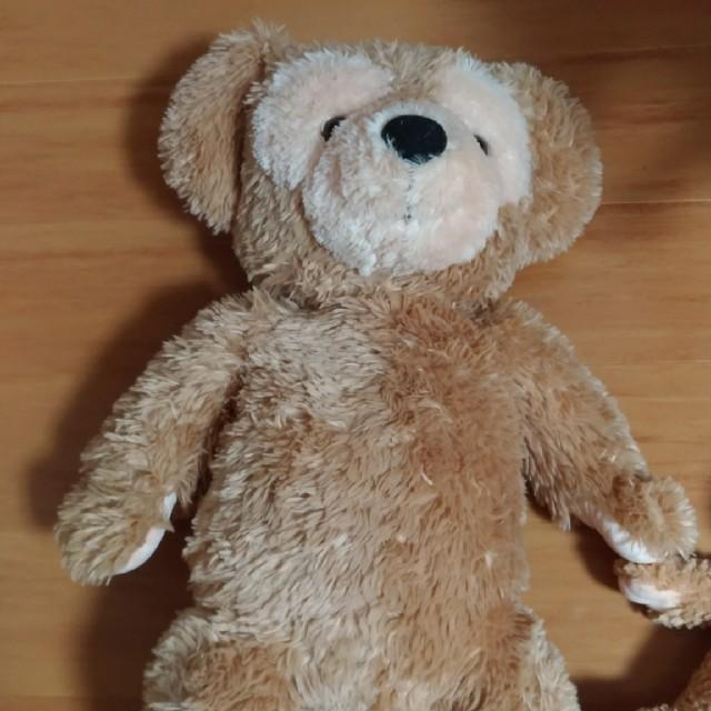 ダッフィー ぬいぐるみ 旧Lサイズ エンタメ/ホビーのおもちゃ/ぬいぐるみ(ぬいぐるみ)の商品写真