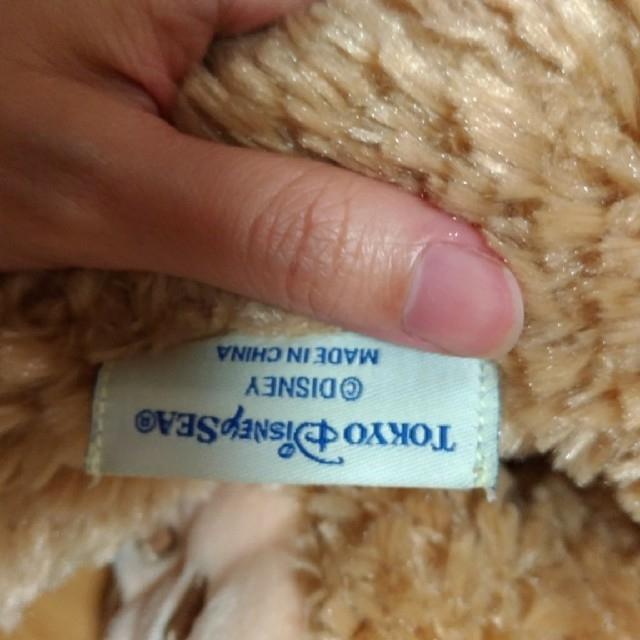 ダッフィー ぬいぐるみ 中国製 エンタメ/ホビーのおもちゃ/ぬいぐるみ(ぬいぐるみ)の商品写真
