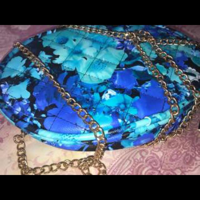 ブルーバッグ♡ レディースのバッグ(ハンドバッグ)の商品写真