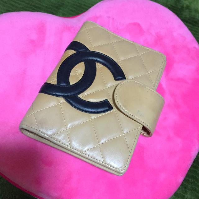 CHANEL(シャネル)のCHANELカンボンライン手帳 レディースのファッション小物(財布)の商品写真